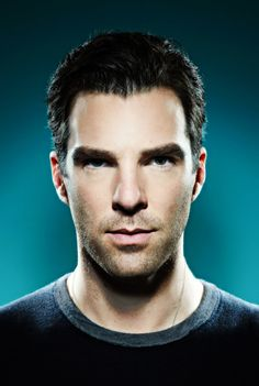 Famous people are really, really ridiculously good-looking. Benedict Cumberbatch / Zachary Quinto