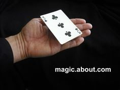 Here is probably the best easy floating card trick for beginners and kids. It all happens courtesy of a gimmick that you can make and I offer instructions here.