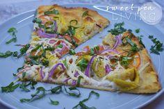 Sweet Pea Living | Vegan Artichoke Pizza | Plant-Based Food | Vegan