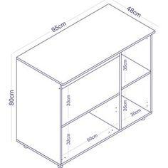 Balcão para Microondas 2 Portas Completa Móveis Branco