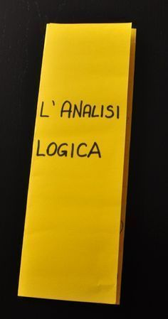 italiano-l'analisi logica Study Methods, Study Tips, School Hacks, I School, Special Needs Teacher, Learning Languages Tips, Italian Grammar, Classroom Projects, Learning Italian