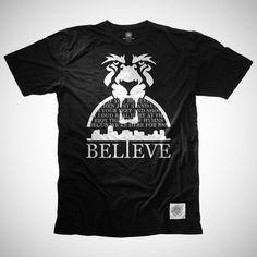 """$25     BPFC x RSL """"Believe"""" Tee    S : M : L : XL : XXL available"""