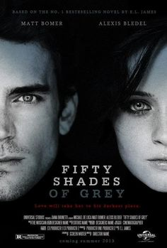 Matt Bomer as Christian Grey / Alexis Bledel as Anastasia Steele #FiftyShadesofGrey