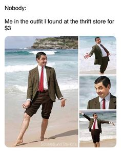 """Fourteen Memes In Honor Of The Lovable Mr. Bean - Funny memes that """"GET IT"""" and want you to too. Get the latest funniest memes and keep up what is going on in the meme-o-sphere. Really Funny Memes, Stupid Funny Memes, Funny Laugh, Funny Relatable Memes, Funny Stuff, Random Stuff, Perfectly Timed Photos, Avengers, Funny Cute"""
