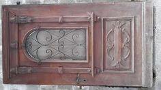 Antique alte Haustüre mit Schnitzereien ca. 100 Jahre alt