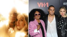 Ashlee Simpson and Evan Ross appear in a Twitter photo posted on Jan. 13, 2014, in which she announced they are engaged. / Ashlee Simpson and Evan Ross are pictured with mother Diana Ross in a Twitter photo posted on Dec. 11, 2013. - Provided courtesy of pic.twitter.com/KVwoltverE / twitter.com/ashleesimpson/status/422890145121984512 / pic.twitter.com/5HKHnMTy3N / twitter.com/realevanross/status/410915445198159873/photo/1