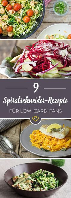 Zucchini Spaghetti Rezepte: 14 mal grün-gesunde Nudelliebe A healthy low-carb pasta happiness in the Healthy Zucchini, Healthy Pastas, Healthy Recipes, Zucchini Pie, Quick Recipes, Spaghetti Recipes, Pasta Recipes, Spiral Slicer Recipes, Law Carb