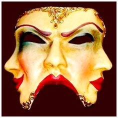 Before I can know my true self, I must remove my mask.