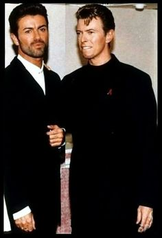 George and David Bowie