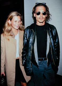 Kate Moss with Johnny Depp- the hottest thing that's ever happened in front of a camera.