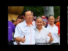 GE13: Guan Eng's Wife Bett Shaves Head Bald To Protest Money Politics