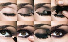 Maquillaje de Ojos de Noche Paso a Paso