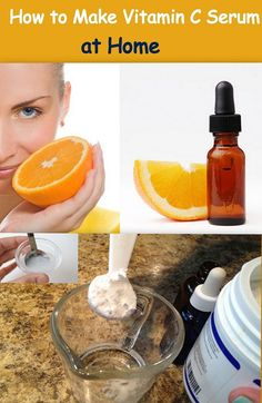 How to Make Vitamin C Serum at Home: DIY Beauty Recipe thought pins like these could be helpful while away to be more wallet-friendly and whatnot Beauty Care, Beauty Skin, Health And Beauty, Face Beauty, Belleza Diy, Tips Belleza, Beauty Secrets, Beauty Hacks, Beauty Tips