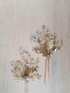 Bridal Hair Pins Bridal Hairpins Wedding Hair Pins Wedding Hairpins Set of Two