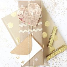 It's never too early for gift wrapping inspiration.