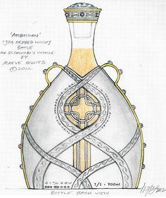 St Columba's Hospice AOIBHINN whisky bottle by MAEVE GILLIES
