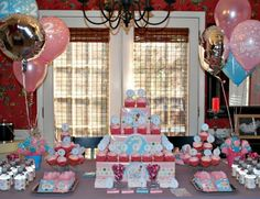 3.  Aristocats ~ Aristocats Birthday Party ~ An adorable blue and pink cat party that's sure to please any fan of the Aristocats.    The Tip Junkie Creative Community has over 30 cat crafts to help you create a fabulous party for your little one.