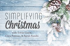Simplify means to make (something) simpler or easier to do or understand. If you enter simplify Christmas in Google, in less than a second, the search engine will give you more than 3,500,000 hits. Yes, that more than three million hits. We long to make the holidays simpler. How can we do that?