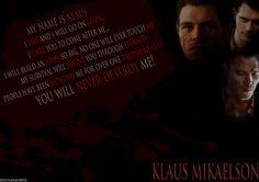 Klaus Mikaelson TVD - Wallpaper by Jesusasaurus.deviantart.com on @deviantART