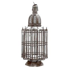 Moorish Vintage large 3 feet lantern | From a unique collection of antique and modern lanterns at http://www.1stdibs.com/furniture/lighting/lanterns/
