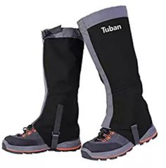 1 Pair Leg Gaiters Waterproof Snow proof Windproof Durable Nylon Leggings Cover Ultra-light Portable High Gaiters for Climbing Hunting Hiking Walking. Durable: nylon fabric, anti-tear, it can prevent you from getting hurt by a field of calf-high weeds. Waterproof Shoes, Hiking Gaiters, Outdoor Pants, Hiking Pants, Snow Skiing, Unisex, Rubber Rain Boots, Legs, Hunting