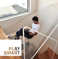 Space for relax can be anywhere   --  Lo spazio per il relax si trova dappertutto   #relax #design #home #interiordesign