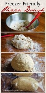 Freezer-Friendly Pizza Dough