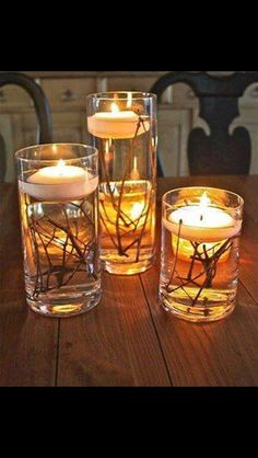 Great decorations/centerpiece!