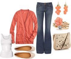 """""""coral"""" by dianacnyc on Polyvore"""