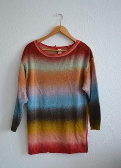 Kup mój przedmiot na #vintedpl http://www.vinted.pl/damska-odziez/swetry-z-dzianiny/10385208-kolorowy-sweter-hm