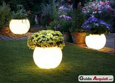 Luci da giardino ad energia solare