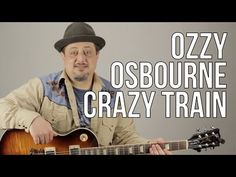 Crazy Train Guitar Lesson - Ozzy Osbourne - Opening Riff - How to Play on Guitar - YouTube