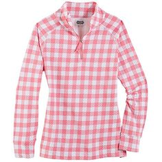 POPPY PULLOVER PINK GINGHAMM -- Click image for more details.