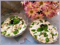 Lecker mit Geri: Auberginen mit Joghurt auf Persische Art-Borani-e Bademjan Патладжан с кисело мляко по персийски
