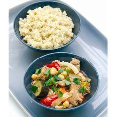 Laurent's Lamb Couscous with Quinoa