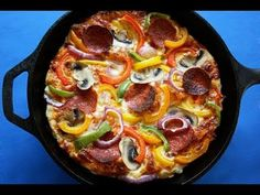 Kitchen project Olgi: Pizza z patelni
