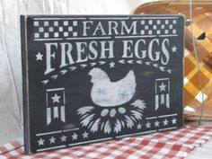 Farmhouse Fresh Eggs...