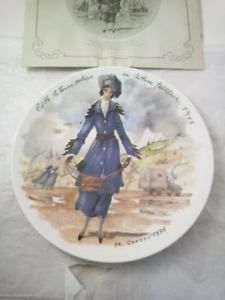 Made In Taiwan Lovely Luster Antiques Conscientious 1982 Ivory Dynasty Antique Decorate Plate .