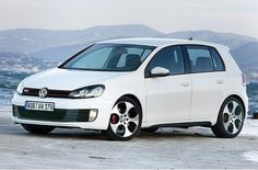 VW golf GTI white