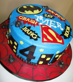All Things Superhero Country Girl Cakes my friends would love this Girl Superhero Cake, Superhero Birthday Cake, Star Wars Birthday, Man Birthday, Birthday Ideas, Country Girl Cakes, Happy Birthday Cake Images, Bithday Cake, Batman Cakes