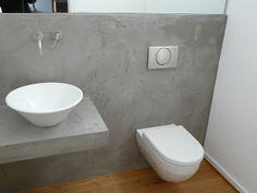 LifeBoxx - Beton Ciré Beton Design, Cement Design, Small Lounge, Tadelakt, Bad Inspiration, Cool Walls, Concrete Floors, Wall Shelves, Cement