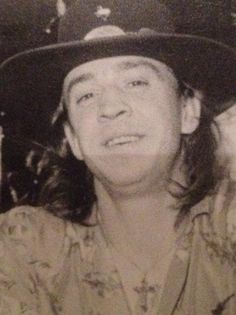 Stevie Ray Vaughan Love his face