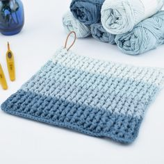 Ribbed Crochet, C2c Crochet, Crochet Home, Learn To Crochet, Free Knitting, Knitting Patterns, Crochet Patterns, Mosaic Knitting, Crochet Furniture