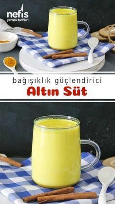 Milk Recipes, Healthy Recipes, Gold Milk, Famous Last Words, Turkish Recipes, No Cook Meals, Glass Of Milk, Healthy Life, Remedies