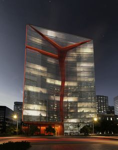 Costa Mar Offices, byRicardo Bofill Taller de Arquitectura  RBTA design for this iconic office building in San Isidro, Lima's business dist...