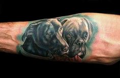 Half Sleeve Men S Tattoo Designs Mens Tattoos, Dog Tattoos, Body Art Tattoos, Tatoos, Animal Tattoos For Men, Tattoos For Women, Tattoos For Guys, Full Tattoo, Tattoo Art