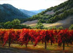 landscapes by california impressionist artist Susan Hoehn