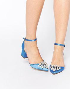 ASOS | ASOS SPARKLE Embellished Heels at ASOS