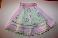 Handmade by Alpenkatzen Mantel, Apron, Skirts, Handmade, Fashion, Sewing Clothes, Shell Tops, Dressing Up, Trousers