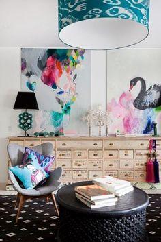 kleur in je interieur dmv schilderijen